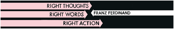 Album 2013: Franz Ferdinand – Right Thoughts, Right Words, Right Action